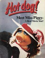 Hot Dog Magazine Cover