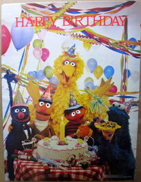 American publishing corp 1981 happy birthday poster