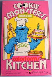 Colorforms 1974 cookie kitchen 1