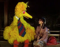 Kaguya-Hime and Big Bird