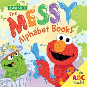 Messy alphabet book