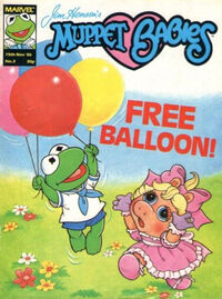 Muppet babies weekly uk 15 nov 1986
