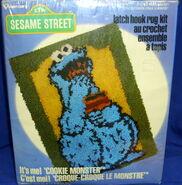 Sesame Street Latch Hook Kits (Vogart)