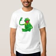Zazzle 2 kermit sitting shirt