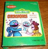 Avalon sesame street crayons 8 pack