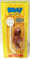 Fisher price 1979 stick puppets rowlf