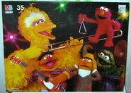 Milton bradley 1988 puzzle sesame band