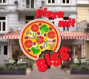 Pizza mit Biss