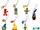 Sesame Street phone mascots (Sanrio)