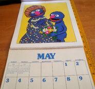 Sesame 1981 poster calendar 6