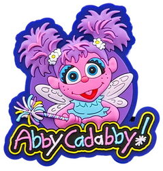 Sesame place magnet abby