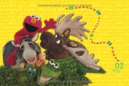 Sesamstrasse posterkalender 2014 feb