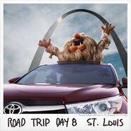 Toyota road trip day 8