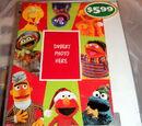 Sesame Street Christmas cards (American Greetings)