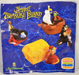 Burger king europe premium muppet treasure island mti 4
