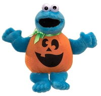 Cookie monster halloween beanbag