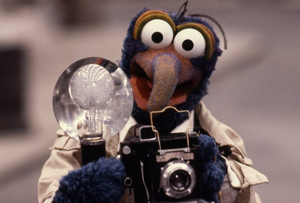 Gonzo And His Camera Jpg
