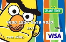 Sesame debit cards 20 bert