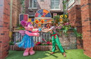 Universal studios singapore abby's fairy garden 1
