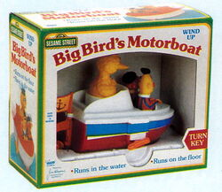 Big bird's motorboat 2