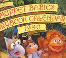 Muppet Babies Storybook Calendar 1990
