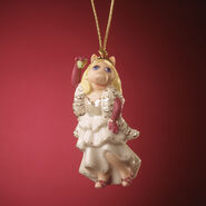 lenox kiss me kermie ornament 2006 - Lenox Christmas Decorations