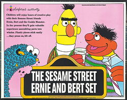 Sesame ernie and bert set