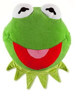 Disney store 2014 plush pillow kermit