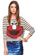 Forever 21 elmo stripes