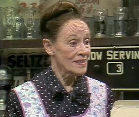 Mrs. Sharp (Anne Revere)