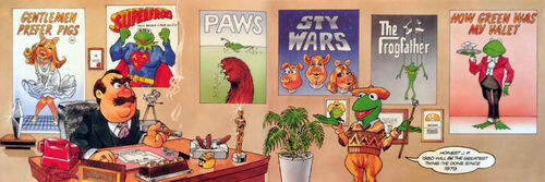 Muppet Diary 1980 - posters
