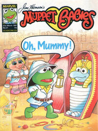 Muppet babies weekly uk 21 march 1987