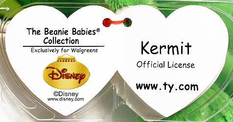 Beanie Babies Kermit - Christmas. Ty xmask 2 5d9f05d7090