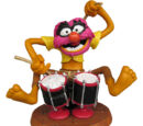 Muppet resin figures