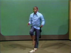 Flip Wilson arms and legs