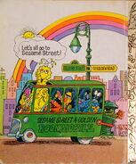 Golden bookmobile