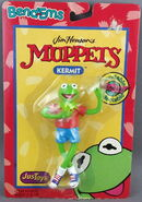 Justoys kermit bendable