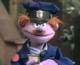 Officer Krupky lavendar