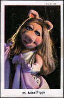 Sweden swap gum cards 25 miss piggy 2