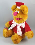 Tycoon enterprises 2002 fozzie christmas santa plush 2