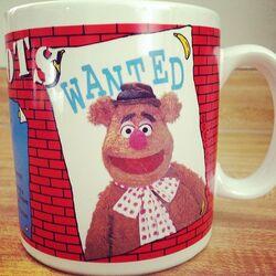 1989 WANTED mug Fozzie
