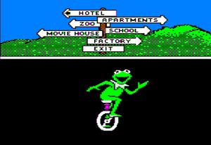 Muppetville main menu
