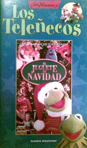 File:Telenecos christmas VHS.JPG