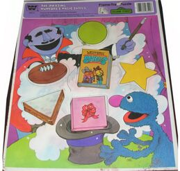 The Amazing Mumford's Magic Shapes 1981 Puzzle