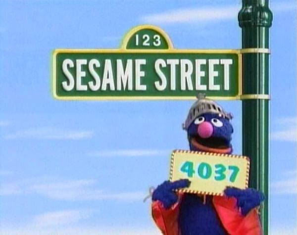 Sesame Street Episode 4037