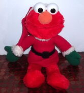 Applause 1997 plush christmas elmo santa elf