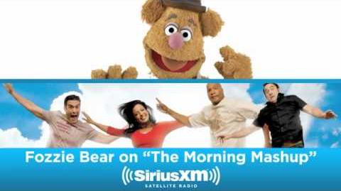 Fozzie Bear From The Muppets on The SiriusXM Hits 1 Morning Mash Up