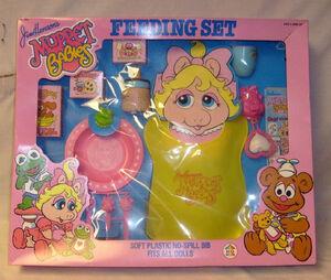 Muppet Babies Feeding Set box