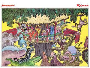 1978 calendar 08 August a