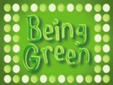 Being Green (video)